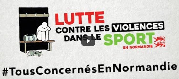 En soutiens contre les violences dans le sport