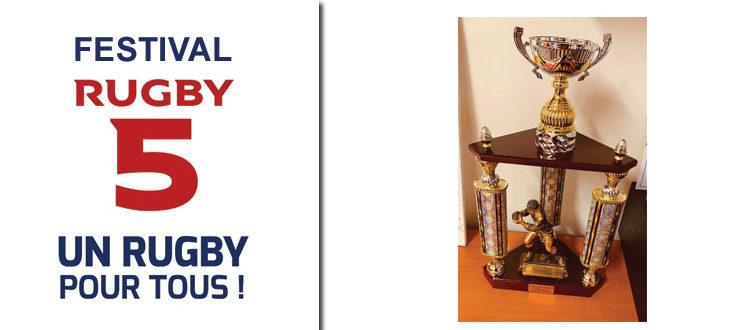 Champion de Normandie Rugby à 5 pour l'équipe +35ans